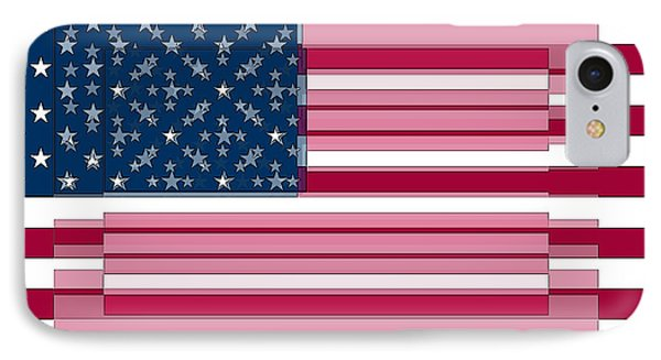 Three Layered Flag IPhone Case
