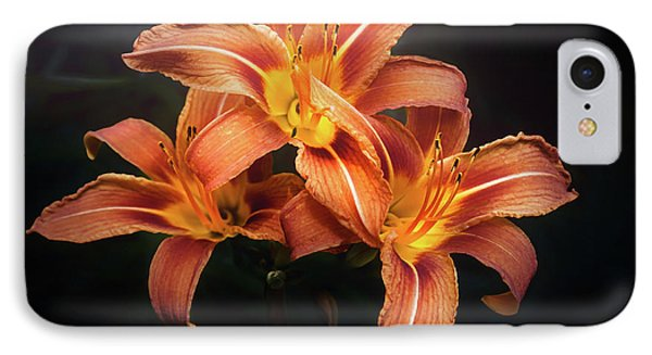Lily iPhone 8 Case - Three Lilies by Scott Norris