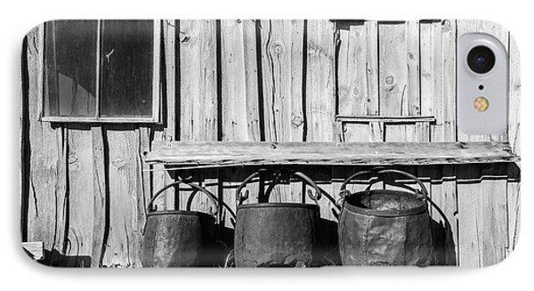 Three Old Buckets IPhone Case