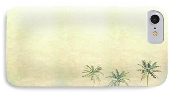 Three Palms In Color IPhone Case