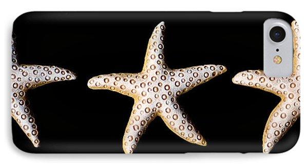 Three Stars - Sepia IPhone Case