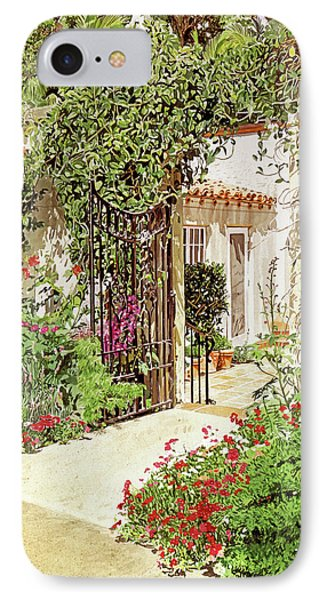 Through The Garden Gate IPhone Case