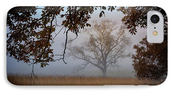 Through The Trees In The Mist IPhone Case