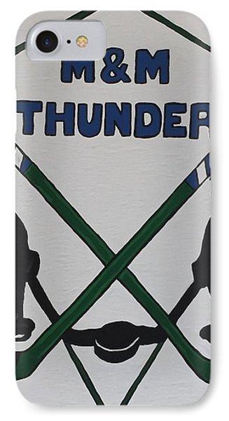 Thunder Hockey IPhone Case