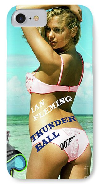 Thunderball, Ian Fleming, James Bond IPhone Case