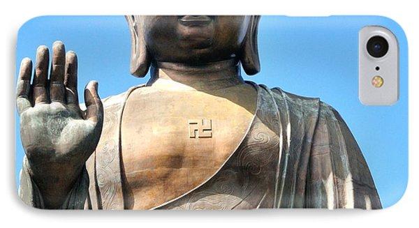 Tian Tan Buddha IPhone Case