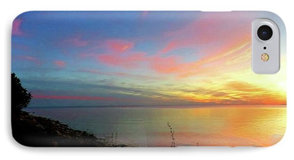Sunset At Tibbetts Point Light, 2015 IPhone Case