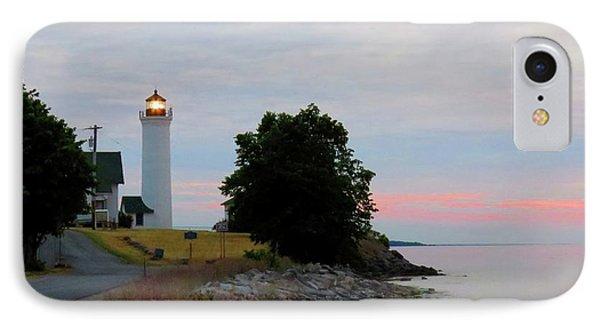 Tibbetts Point Light Sunset IPhone Case