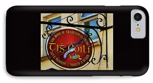 Tig Coili Sign, Galway IPhone Case