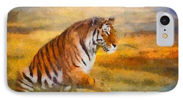 Tiger Dreams IPhone Case