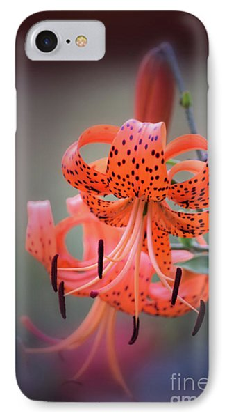 Tiger Lily 2 IPhone Case