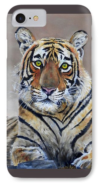 Tiger Portrait IPhone Case