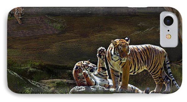 Tigers In The Night IPhone Case