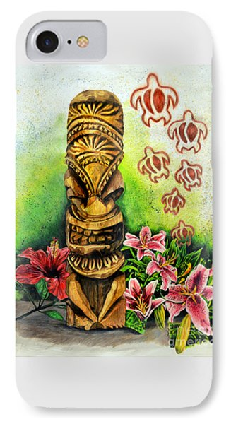 Tiki Still Life 2 IPhone Case