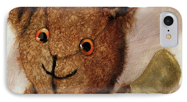 Tillie - Vintage Bear Painting IPhone Case