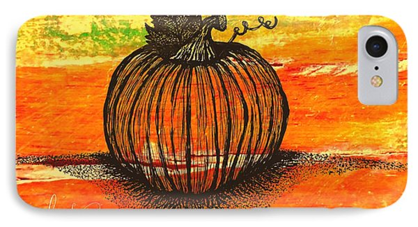 Time To Get Pumkin IPhone Case