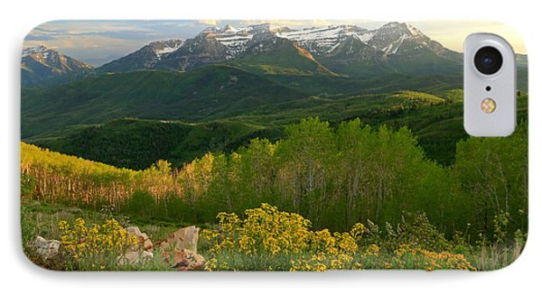 Timpanogos From Mill Canyon Peak. IPhone Case