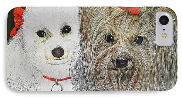 Tipper And Chelsea IPhone Case