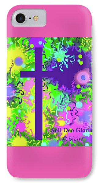 To God Be The Glory IPhone Case