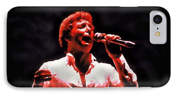 Tom Jones In Concert IPhone Case