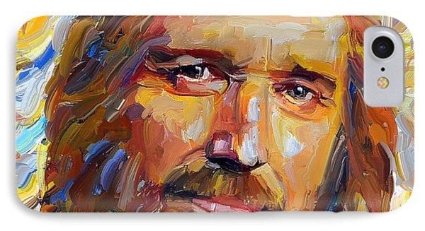 Tribute iPhone 8 Case - Tom Petty Tribute Portrait 1 by Yury Malkov
