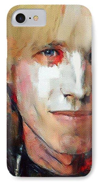 Tribute iPhone 8 Case - Tom Petty Tribute Portrait 3 by Yury Malkov
