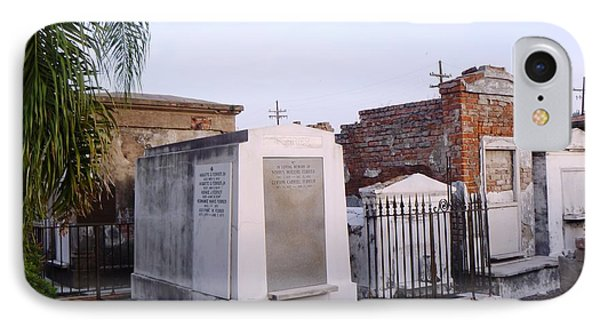 Tombs In St. Louis Cemetery IPhone Case