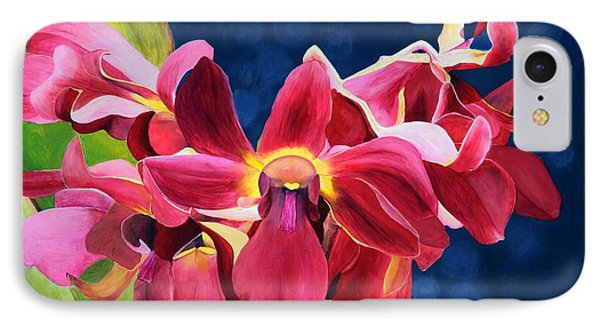 Tom's Orchid IPhone Case