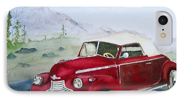 Topless 1940 Chevy IPhone Case