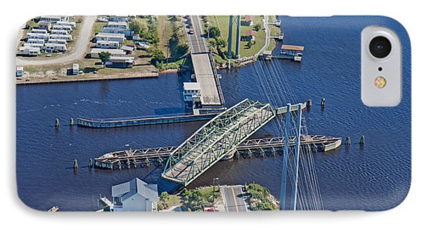 Topsail Island Swing Bridge IPhone Case