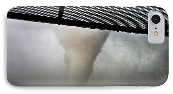 Tornado Near Yorkton Sk. IPhone Case