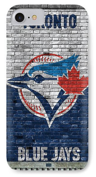 Toronto Blue Jays Brick Wall IPhone Case