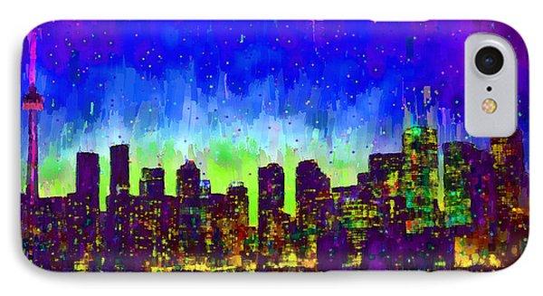 Toronto Skyline 15 - Pa IPhone Case