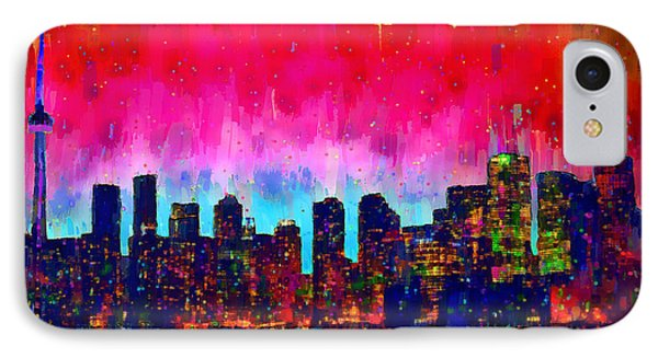 Toronto Skyline 20 - Da IPhone Case