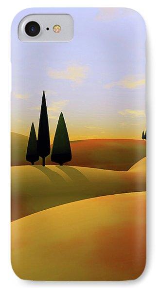 Landscape iPhone 8 Case - Toscana 3 by Cynthia Decker