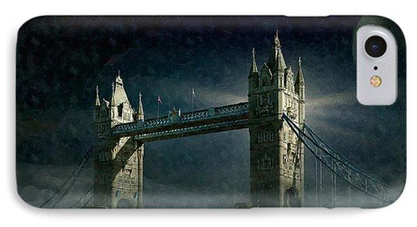 Tower Bridge In Moonlight IPhone Case