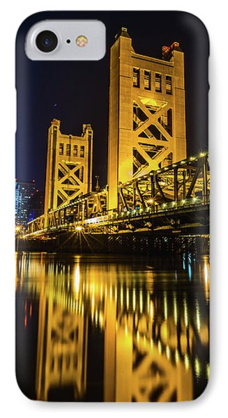 Tower Reflections IPhone Case