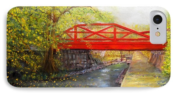 Towpath In New Hope IPhone Case