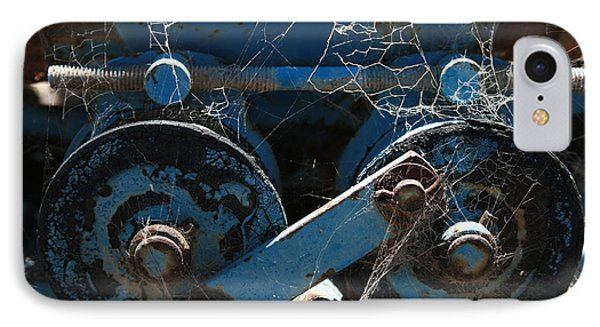 IPhone Case featuring the photograph Tractor Engine IIi by Stephen Mitchell