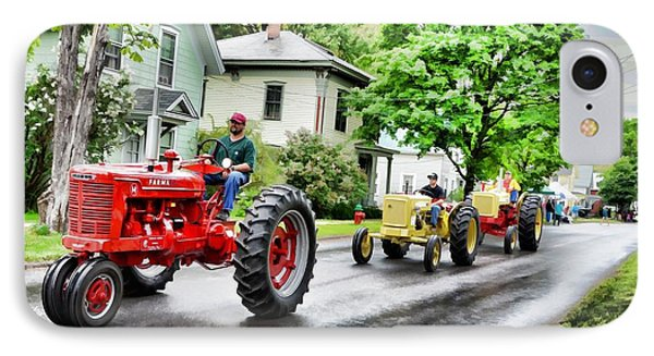 Tractors On Parade IPhone Case
