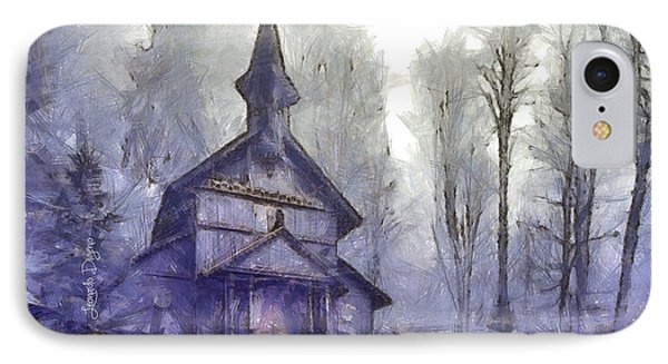 Traditional Church IPhone Case