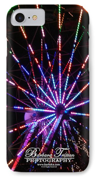 Trail Of Lights #7427 IPhone Case