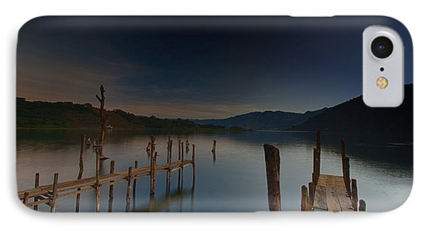 Tranquility At Atitlan IPhone Case