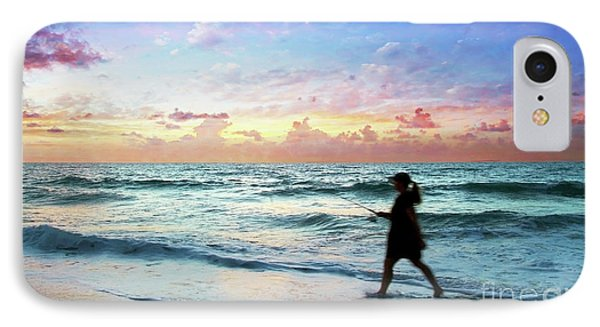 Treasure Coast Florida Seascape Dawn D6 IPhone Case