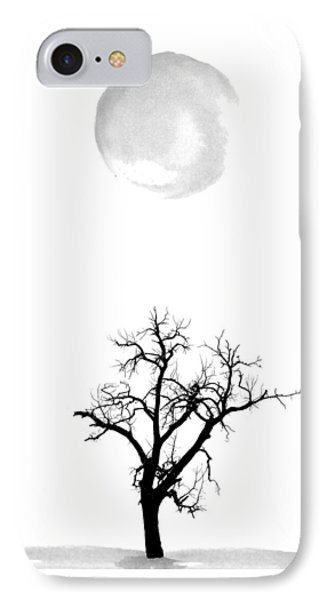 Tree And Moon IPhone Case