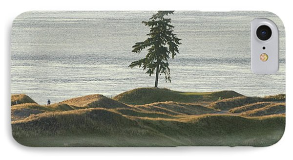 Tree At Chambers Bay IPhone Case