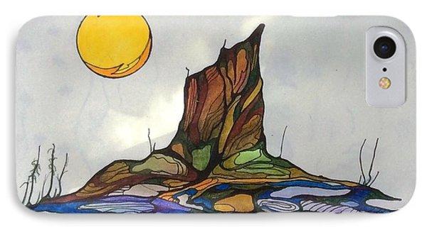Tree Stump At Spooky Marsh IPhone Case