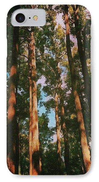 Tree Trunks IPhone Case