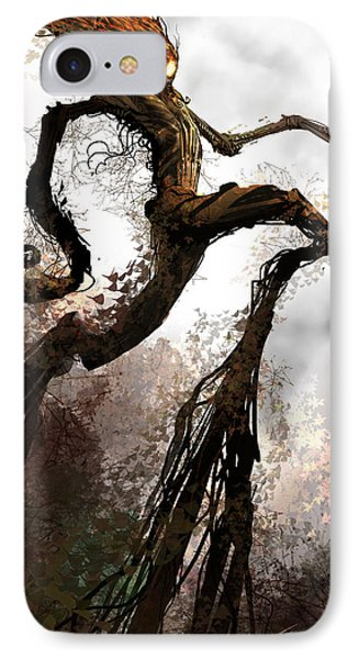 Treeman IPhone Case