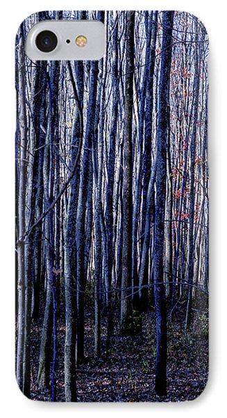 Treez Blue IPhone Case